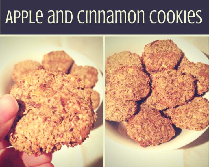 Apple and cinnamon cookies-1